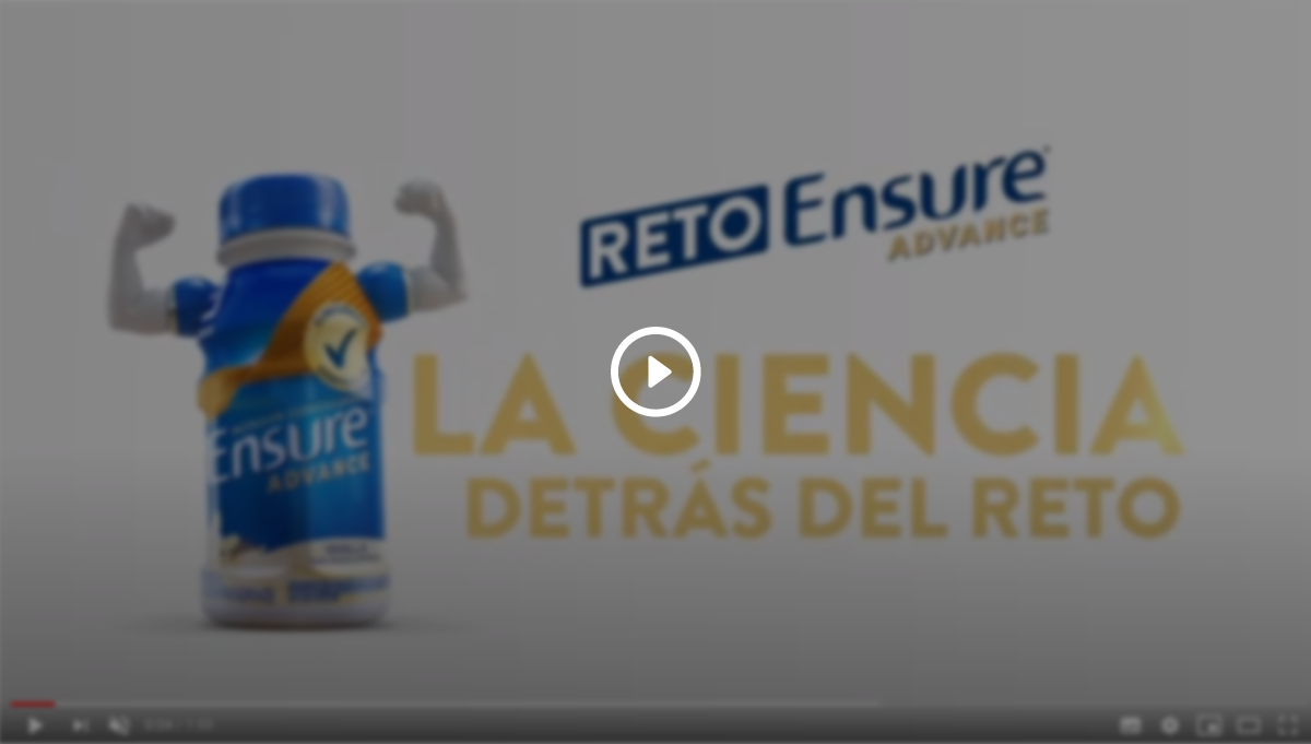 La ciencia detrás del Reto Ensure® Advance