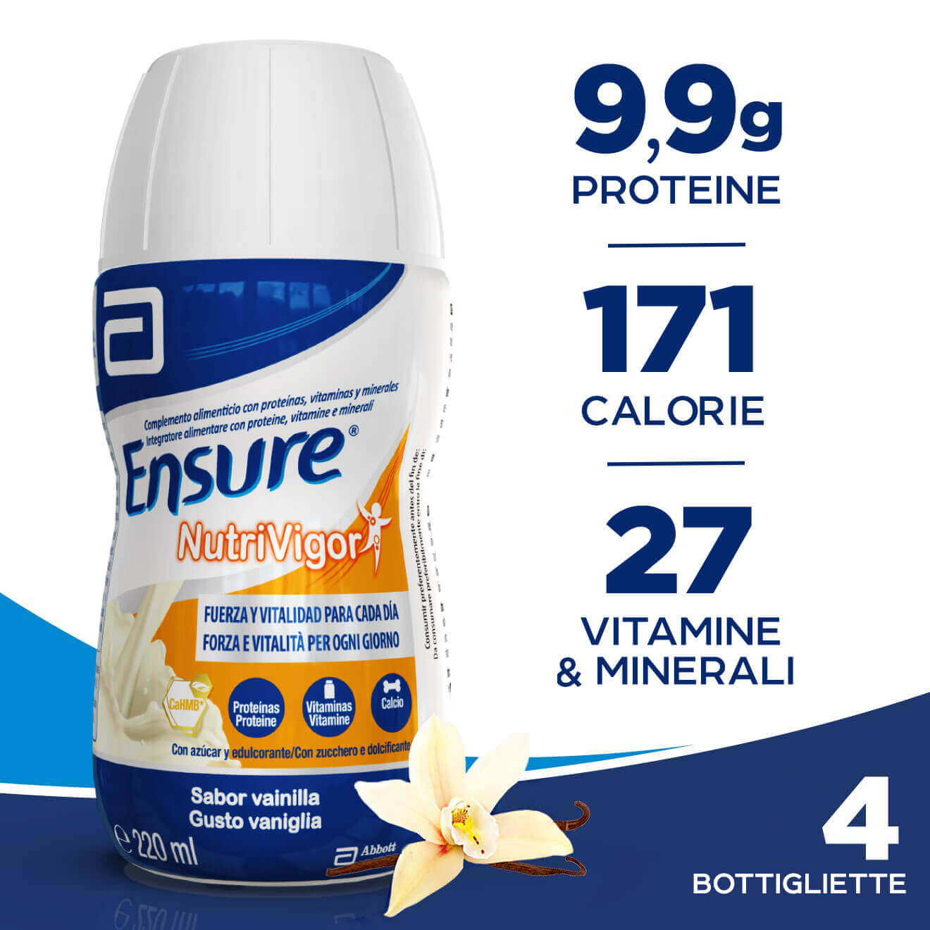 cheap prices nice shoes best sell Ensure NutriVigor Integratore alimentare per adulti drink ...